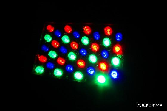 ライトアップの技術