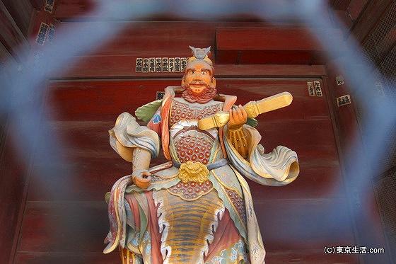 護国寺の増長像