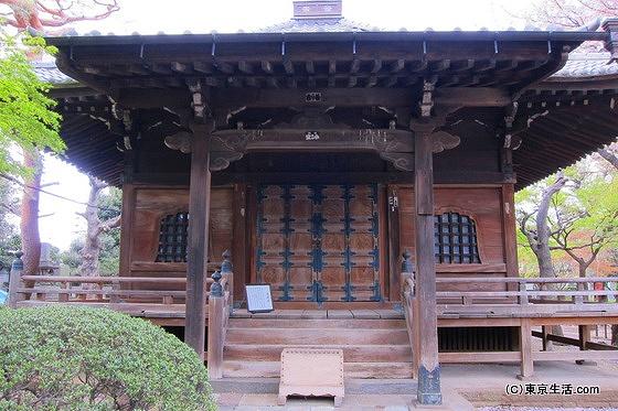 護国寺の薬師堂