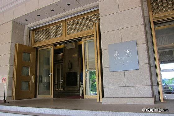 東京国立博物館 本館の玄関
