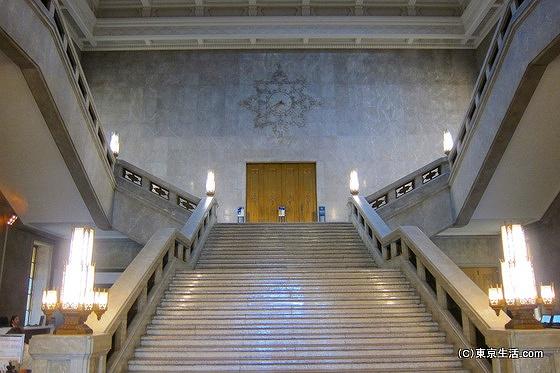 東京国立博物館の階段