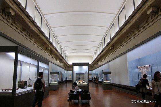 東京国立博物館の展覧室