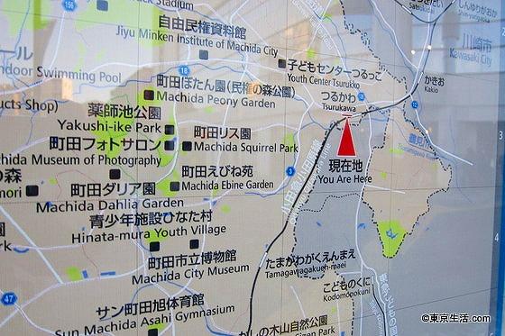 武相荘の地図