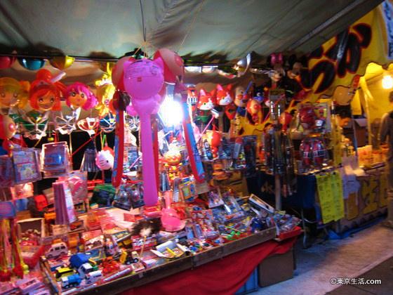 みたま祭りの屋台
