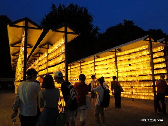 みたま祭りの灯籠