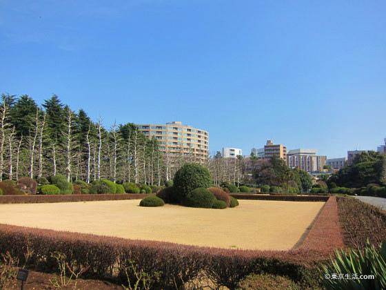 新宿御苑のフランス庭園