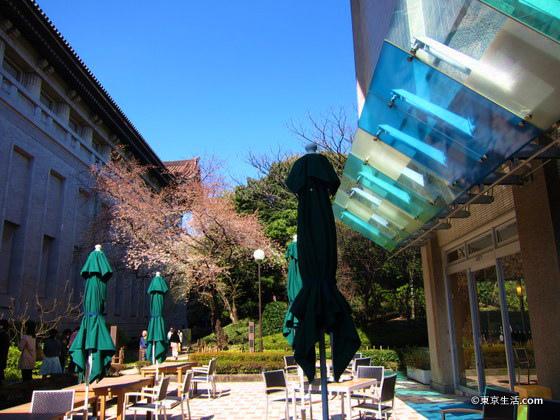 穴場の東京国立博物館のレストラン