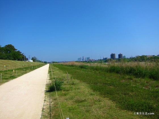 多摩川の湯歩道