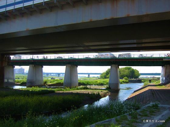 東急線の鉄橋