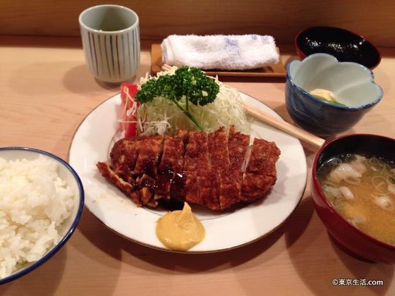 とんきのロースカツ定食|目黒のグルメ