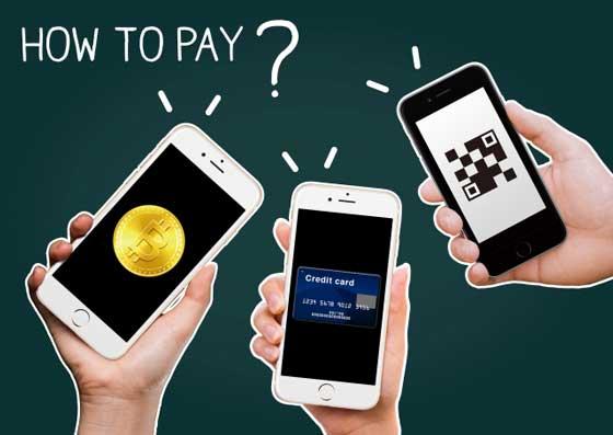 電子マネーの支払い