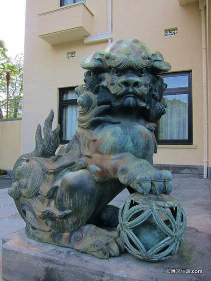 東京都庭園美術館の朝香宮邸