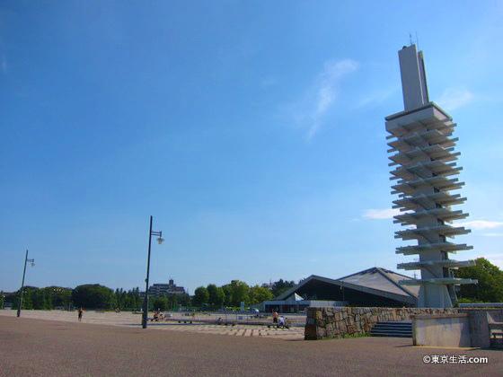 駒沢のオリンピック公園を散歩