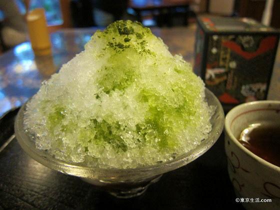 自由が丘のかき氷と駒沢の冷やし中華|散歩