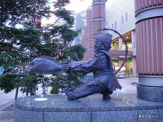 赤羽駅の七福神