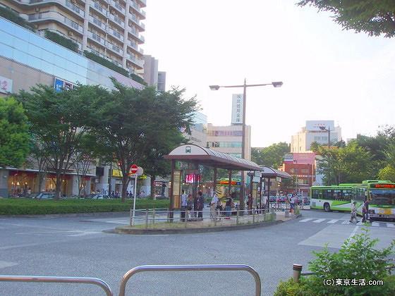 赤羽駅西口のロータリー