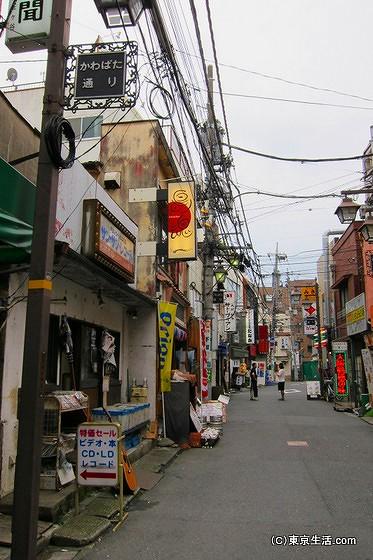 阿佐ヶ谷駅南口の飲み屋街