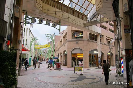 阿佐谷パールセンターの出口
