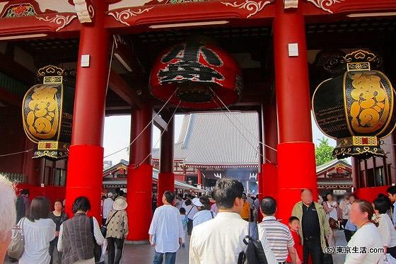 三社祭りの日の浅草寺