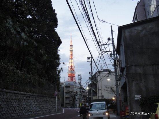 東京タワーもすぐそこ