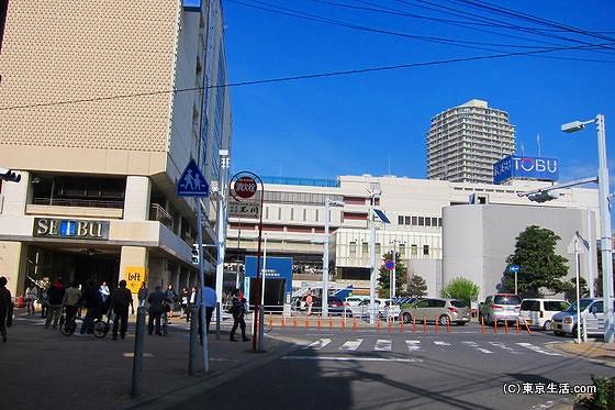 船橋の百貨店|西武と東武とホームレスなミニ池袋の画像