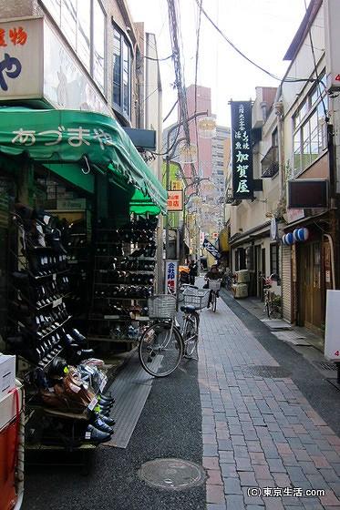 中通り商店街の店舗