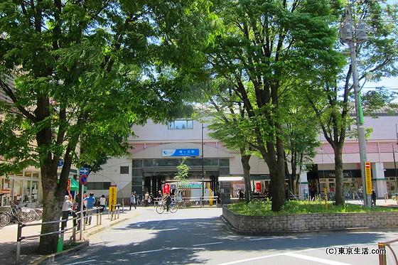小田急線梅ヶ丘駅