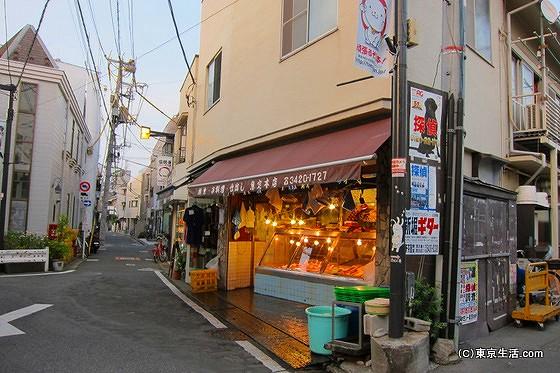 豪徳寺商店街の魚屋