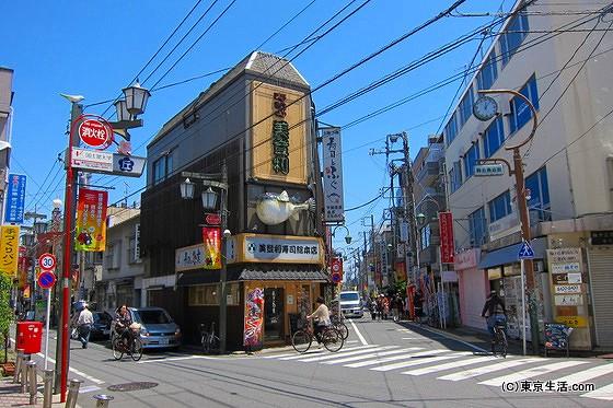 梅ヶ丘の商店街|美登利寿司と適度に閑静な商店街の画像