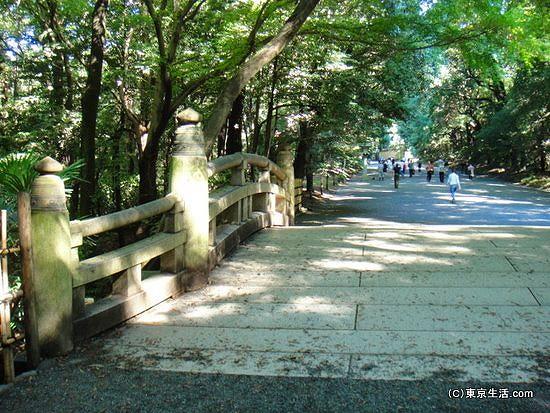 明治神宮の橋