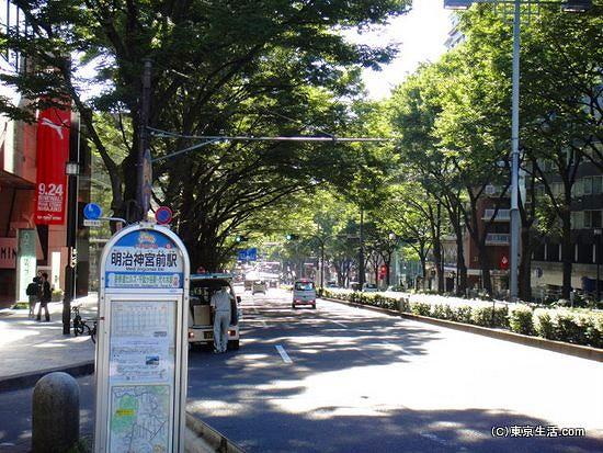 表参道と明治神宮前駅