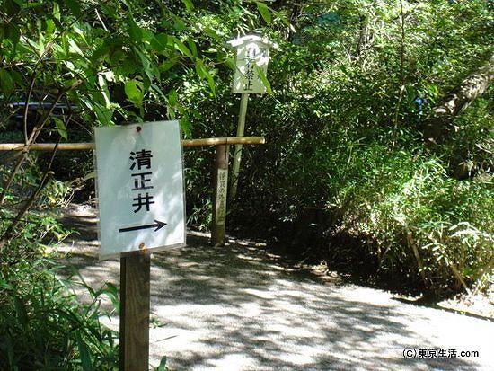 清正井への行き方