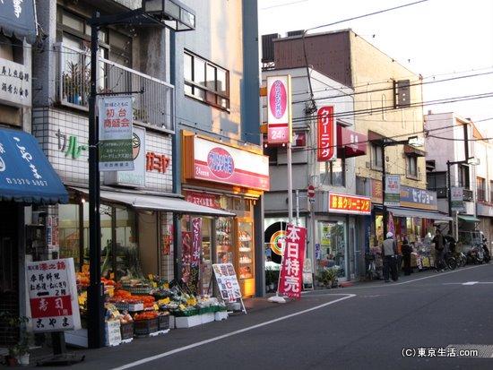 一人暮らし向けのお店多い