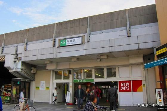 平井駅の北口