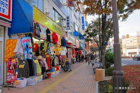 平井駅の北口のお店