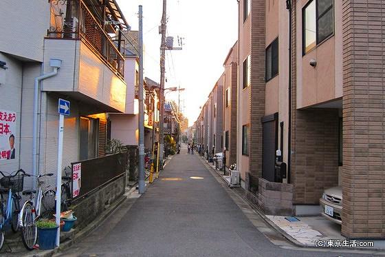 平井の住宅街