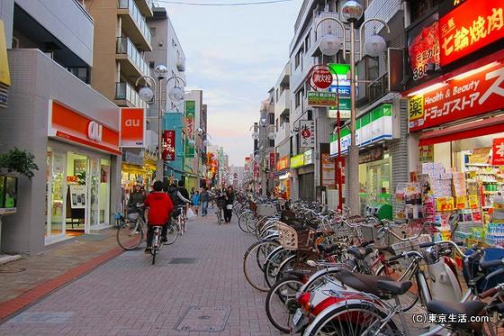 平井の商店街|江戸川区って自転車が多いよなぁの画像