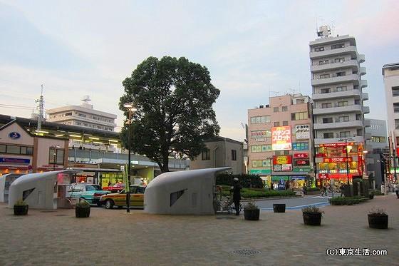 平井駅南口のロータリー
