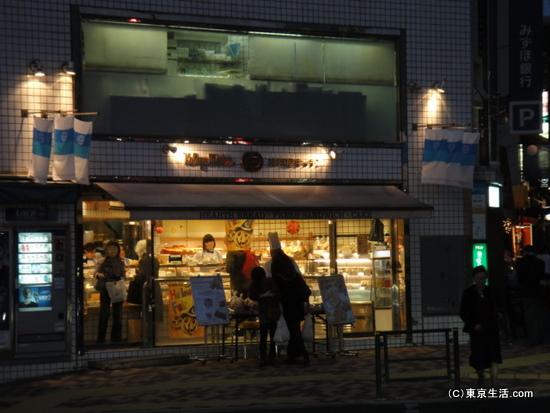 広尾商店街のパン屋