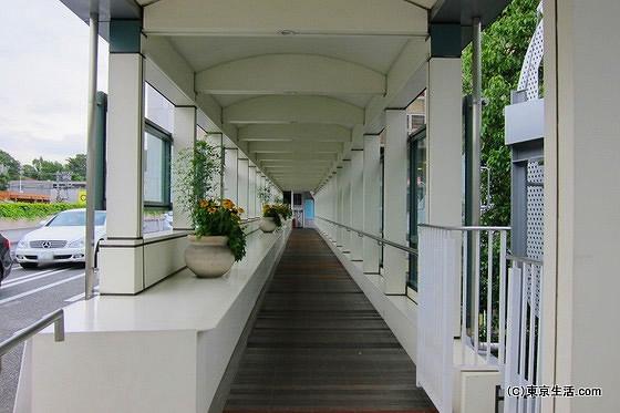 高島屋の連絡橋