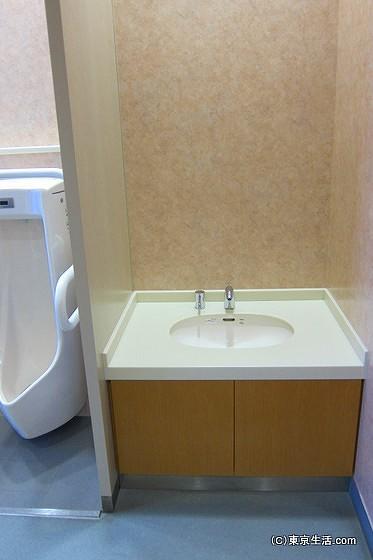 アイリンクタウンいちかわの子供向けトイレ