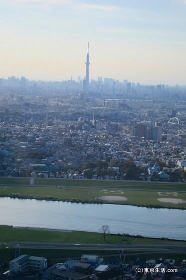 東京スカイツリーの見える高層マンション
