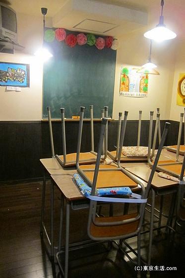 6年4組の教室