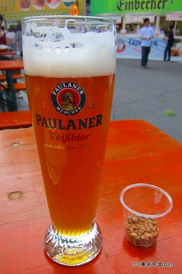 オクトーバフェストのドイツビール