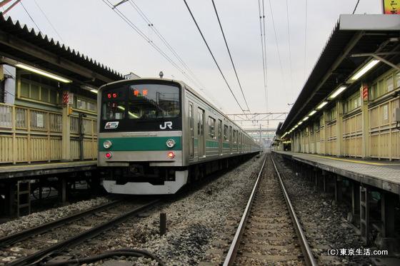 新宿や池袋へ行く埼京線