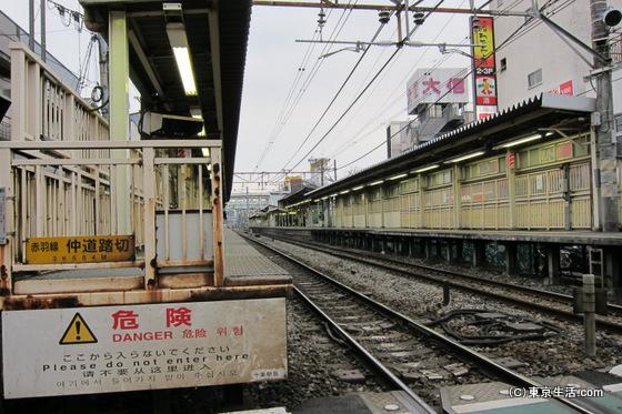 十条駅のホーム