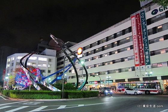 蒲田駅東口側