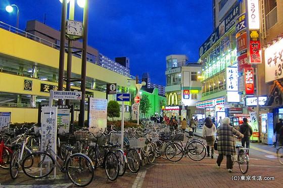蒲田駅の南側広場