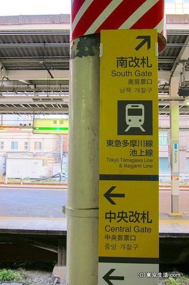 蒲田駅に降り立つ
