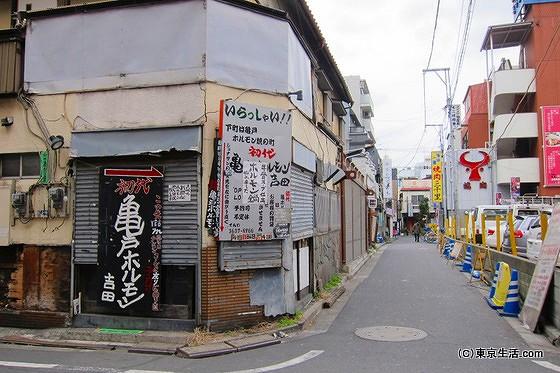 亀戸の商店街|ホルモン臭と中国臭が漂ってましたの画像